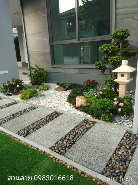 walking garden modern japanese